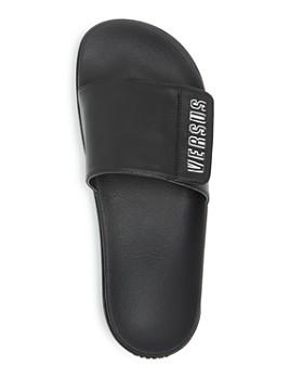 Versus Versace - Men's Leather Slide Sandals