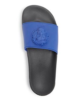 303f7d493350 ... Versus Versace - Men s Lion Slide Sandals
