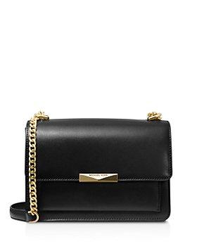 MICHAEL Michael Kors - Large Jade Gusseted Leather Shoulder Bag