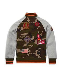 Ralph Lauren - Boys' Camouflage Baseball Jacket - Big Kid
