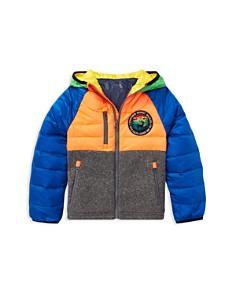 Ralph Lauren - Boys' Wildlife Hybrid Zip Down Jacket - Little Kid