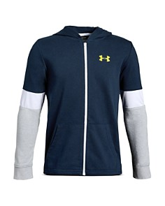 Under Armour - Boys' Rival Terry Zip Hoodie - Big Kid