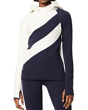 Tory Sport - Color-Block Hooded Sweatshirt