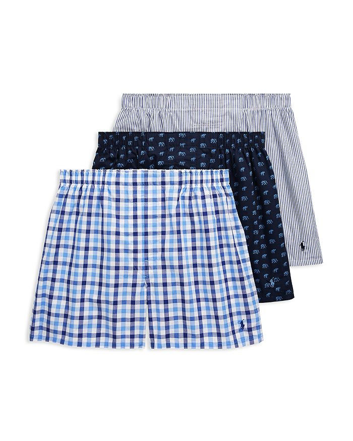 Polo Ralph Lauren - Patterned Classic Fit Boxers - Pack of 3