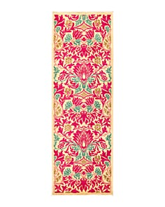 """Solo Rugs - Bourges Suzani Runner Rug, 2'8"""" x 8'2"""""""