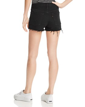 Levi's - 501 Denim Cutoff Shorts in Rook - 100% Exclusive