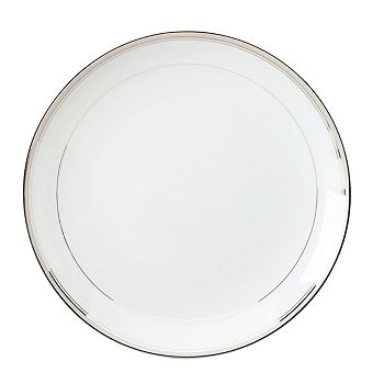 "Philippe Deshoulieres - ""Excellence Grey"" Round Cake Plate"