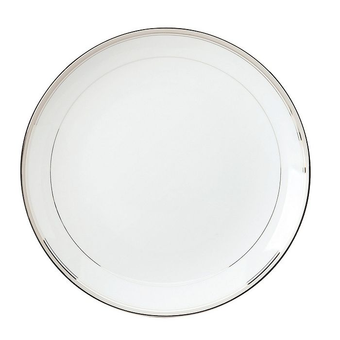"""Philippe Deshoulieres - """"Excellence Grey"""" Round Cake Plate"""