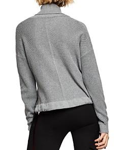 BCBGENERATION - Drawstring Turtleneck Sweater