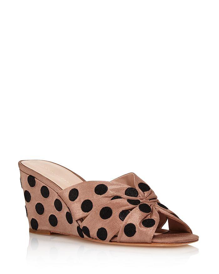 Loeffler Randall - Women's Sonya Polkadot Wedge Sandals