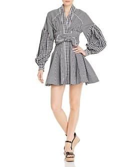 Acler - Lella Gingham Mini Dress