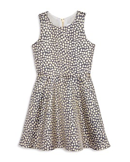AQUA - Girls' Leopard Print Skater Dress, Big Kid - 100% Exclusive