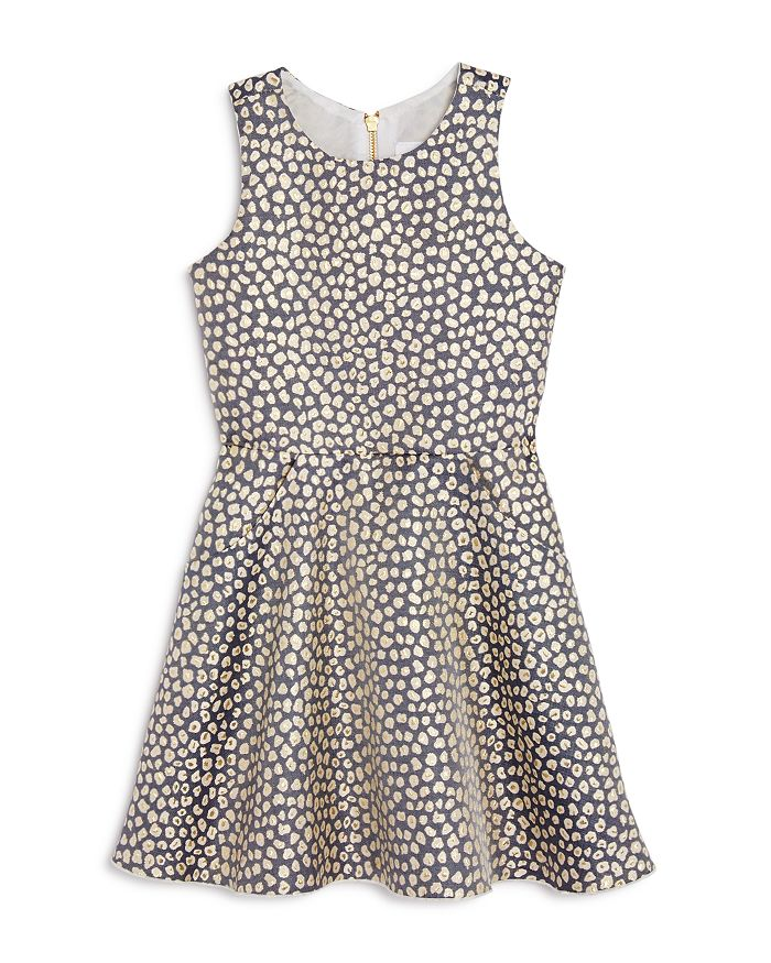 bcd68e43f AQUA Girls' Leopard Print Skater Dress, Big Kid - 100% Exclusive ...