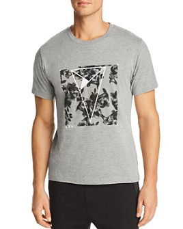 Dyne - Floral-Logo Graphic Tee