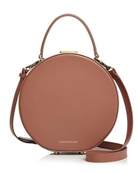 Tammy & Benjamin - Hatbox Leather Shoulder Bag