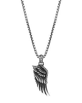 "JOHN HARDY - Sterling Silver Legends Eagle Large Wing Pendant Necklace, 24"""