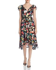 Elie Tahari - Ryder Floral Burnout Dress