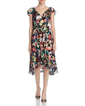 d5a8a730818b Elie Tahari - Ryder Floral Burnout Dress ...