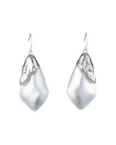 Alexis Bittar - Crumpled Asymmetrical Earrings