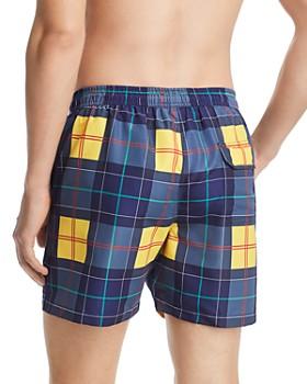 Barbour - Tartan Swim Shorts