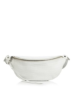 Rebecca Minkoff - Bree Croc-Embossed Belt Bag