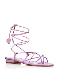 Dondoks - Women's Braided Leather Sandals