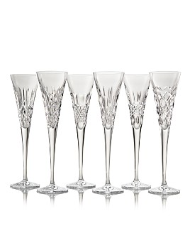 Waterford - Connoisseur Heritage Champagne Flutes, Set of 6