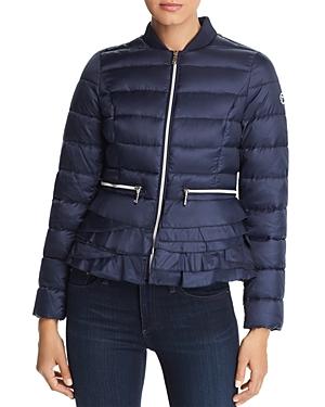 T Tahari Emily Lightweight Short Quilted Coat