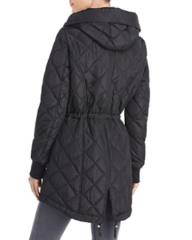 Calvin Klein - Hooded Diamond-Quilted Jacket