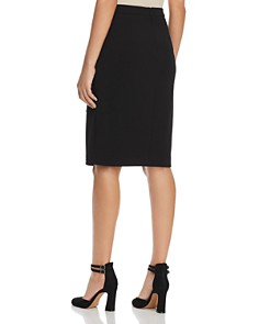 T Tahari - Lace Trim Pencil Skirt