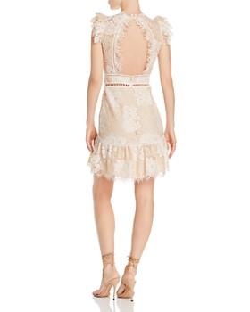 Saylor - Lace Open-Back Dress
