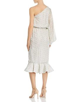 Hemant and Nandita - One-Shoulder Floral Dress