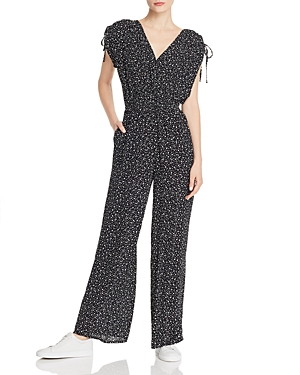 Band Of Gypsies BAND OF GYPSIES AMSTERDAM POLKA DOT TIE-DETAIL JUMPSUIT