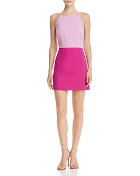 ef3d47b6e2aeb FRENCH CONNECTION - Whisper Color-Blocked Sheath Dress ...