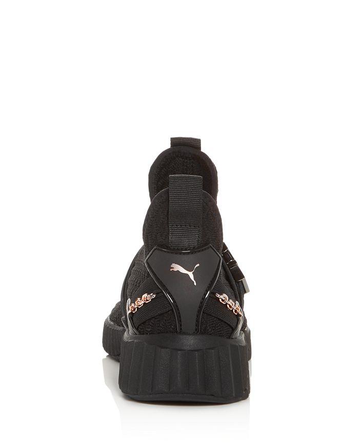 fc79ddebe4d4 PUMA - Women s x SG Defy Knit Mid-Top Sneakers
