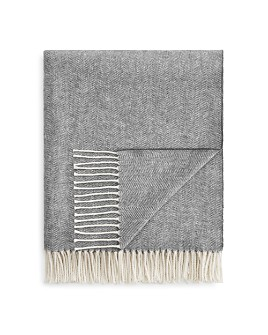 Lands Downunder - Herringbone Throw