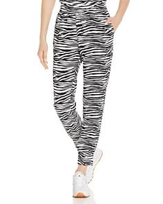 AQUA - Zebra Print Jogger Pants - 100% Exclusive