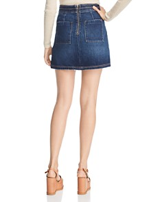 Current/Elliott - The Ballast Denim Skirt