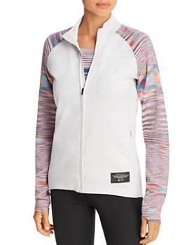 bef1696667d9 adidas by Stella McCartney - Space Dye-Sleeve Track Jacket ...