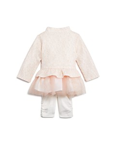 Miniclasix - Girls' Jacket, T-Shirt Dress & Capri Leggings Set - Baby