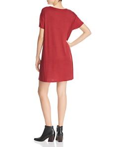 rag & bone/JEAN - Clara Mixed-Texture T-Shirt Dress