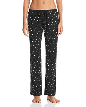 Pj Salvage Loungewear STAR-PRINT PAJAMA PANTS