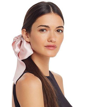 slip - Silk Ribbon and Silk Midi Scrunchies, Set of 2