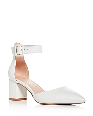 Kurt Geiger WOMEN'S BURLINGTON ANKLE-STRAP POINTED-TOE PUMPS