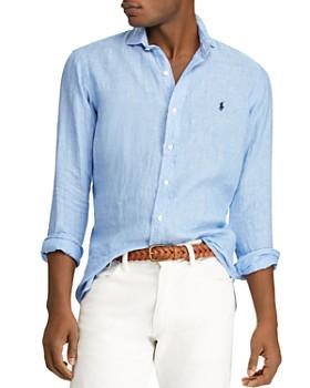 2ebbb322555f Polo Ralph Lauren - Classic Fit Linen Shirt ...