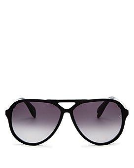 rag & bone - Women's Brow Bar Aviator Sunglasses, 60mm