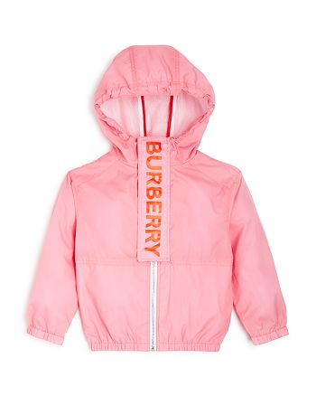 Burberry - Girls' Austin Hooded Jacket - Little Kid, Big Kid