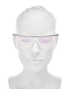 Kenzo - Women's Square Shield Sunglasses, 137mm