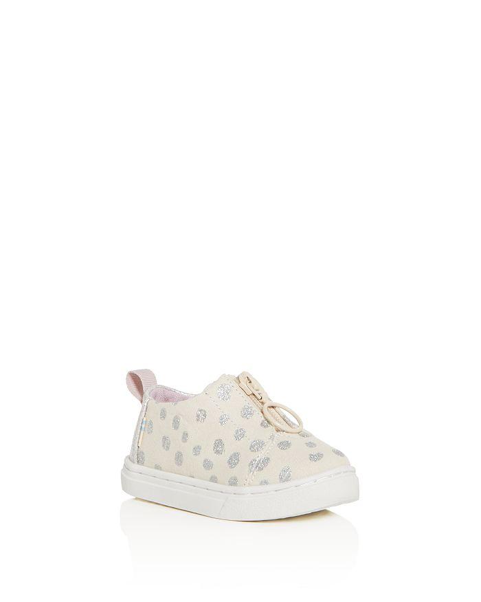 TOMS - Girls' Lenny Glitter Dot Low-Top Sneakers - Baby, Walker, Toddler
