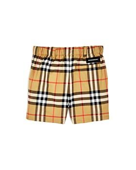 61026a8596f8e ... Burberry - Boys  Sean Vintage Check Shorts - Baby